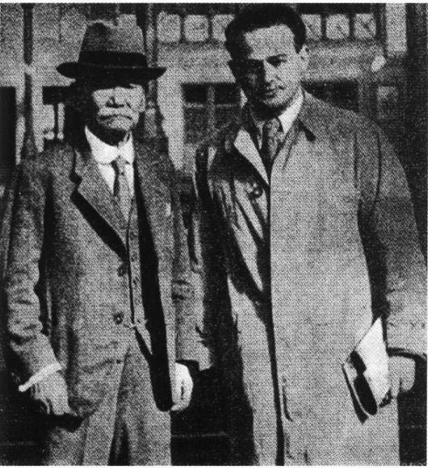 Moshe Feldenkrais avec Maître Kano